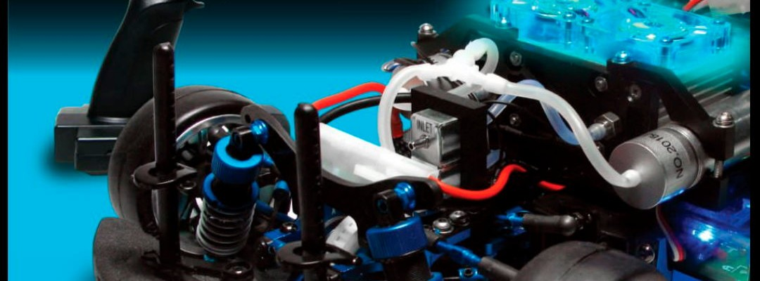Fuel cell for model R_C vehicles