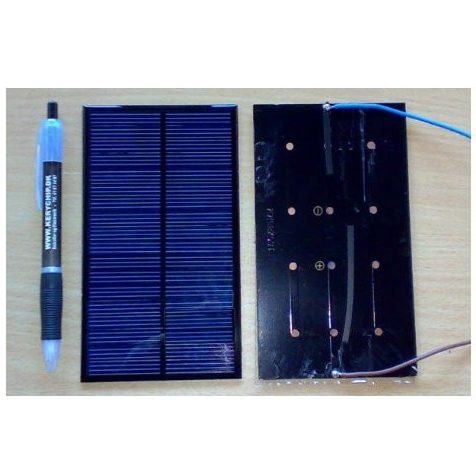 Mini solceller 4V til 15V
